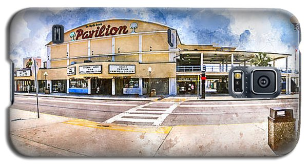 The Myrtle Beach Pavilion - Watercolor Galaxy S5 Case