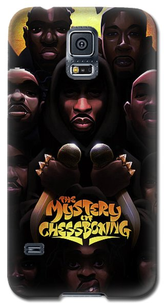 The Mystery Of Chessboxing Galaxy S5 Case by Nelson dedosGarcia
