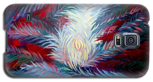 Galaxy S5 Case featuring the painting The Name Of God by Laila Awad Jamaleldin