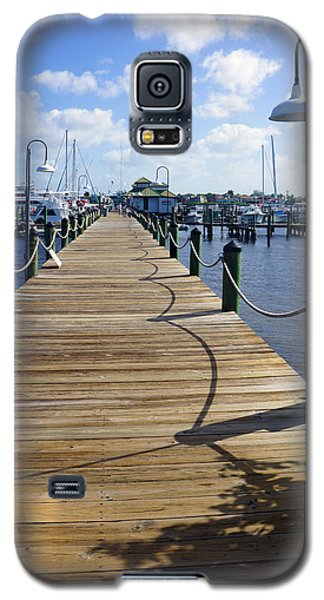 The Naples City Dock Galaxy S5 Case
