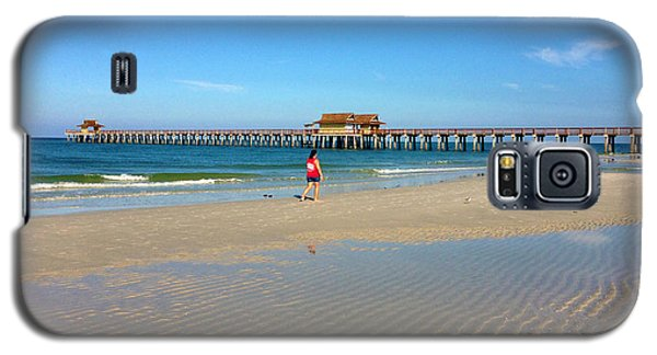 The Naples Pier At Low Tide Galaxy S5 Case