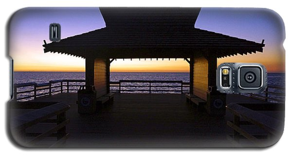 The Naples Pier At Twilight - 02 Galaxy S5 Case