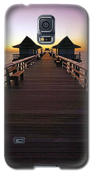 The Naples Pier At Twilight Galaxy S5 Case