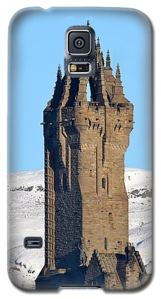 Galaxy S5 Case featuring the photograph The National Wallace Monument by RKAB Works
