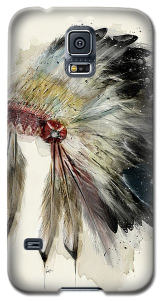 The Native Headdress Galaxy S5 Case