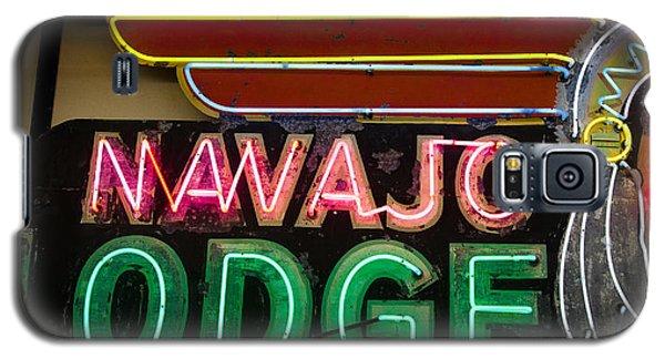 The Navajo Lodge Sign In Prescott Arizona Galaxy S5 Case
