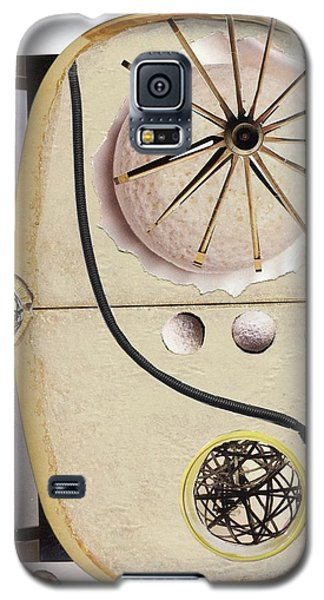 Galaxy S5 Case featuring the painting The Navigator by Michal Mitak Mahgerefteh