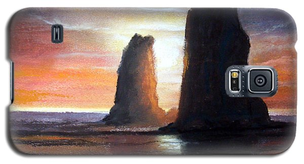 Galaxy S5 Case featuring the painting The Needles by Chriss Pagani