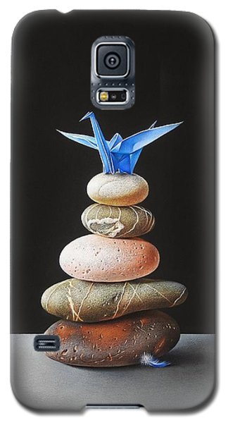 Galaxy S5 Case featuring the drawing The Nest by Elena Kolotusha
