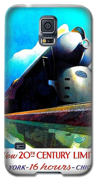 The New 20th Century Limited New York Central System 1939 Leslie Ragan Galaxy S5 Case