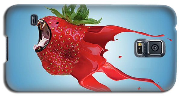 Galaxy S5 Case featuring the photograph The New Gmo Strawberry by Juli Scalzi