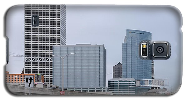 The New Milwaukee Skyline Galaxy S5 Case by Randy Scherkenbach