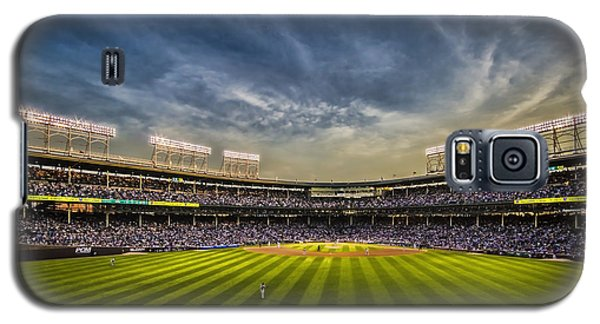 The New Wrigley Field With Pretty Sunset Sky Galaxy S5 Case
