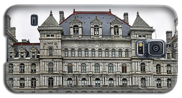Galaxy S5 Case featuring the photograph The New York State Capitol In Albany New York by Brendan Reals
