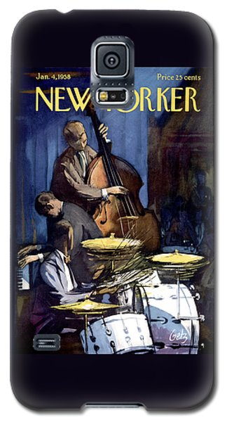 The New Yorker Cover - January 4th, 1958 Galaxy S5 Case