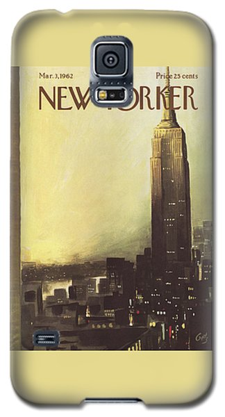 The New Yorker Cover - March 3rd, 1962 Galaxy S5 Case