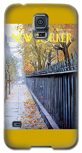 Autumn In New York Galaxy S5 Case