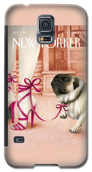 The New Yorker Cover - September 27th, 2004 Galaxy S5 Case