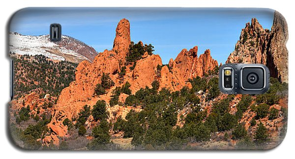 Galaxy S5 Case featuring the photograph The High Point View by Adam Jewell