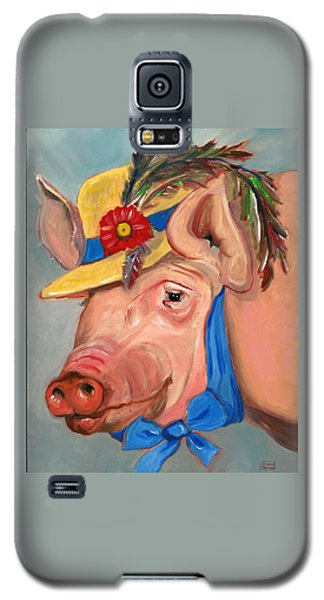 The Noble Pig Galaxy S5 Case by Susan Thomas