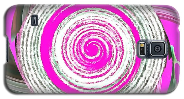 Galaxy S5 Case featuring the painting The Noise by Catherine Lott