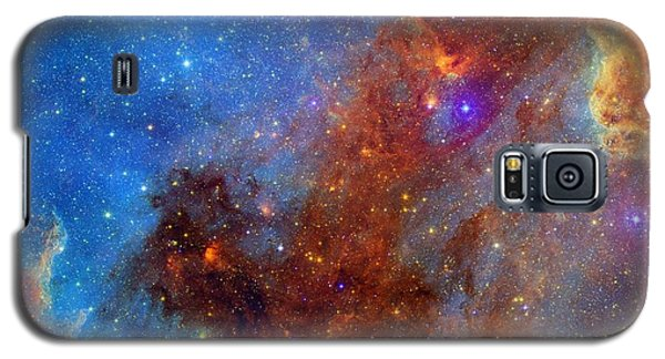 Galaxy S5 Case featuring the photograph The North America Nebula In Different Lights by NASA JPL - Caltech