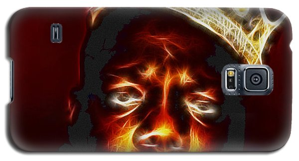 The Notorious B.i.g. - Biggie Smalls Galaxy S5 Case by Paul Ward