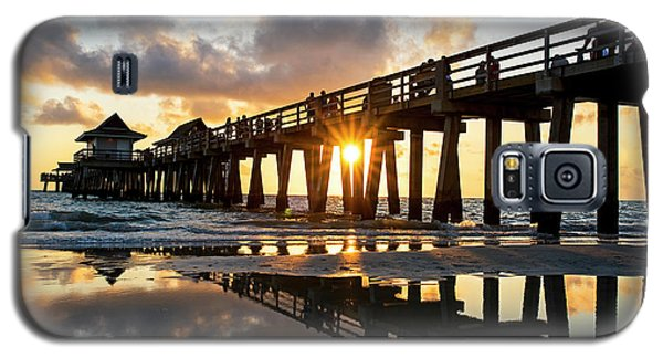 Naples Pier At Sunset Naples Florida Galaxy S5 Case