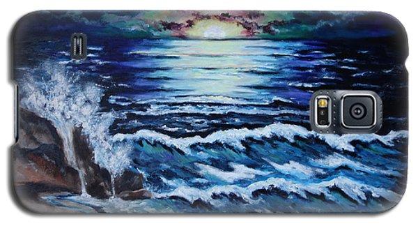 The Ocean Sings The Sky Listens Galaxy S5 Case by Cheryl Pettigrew