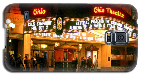 The Ohio Theater At Night Galaxy S5 Case by Laurel Talabere