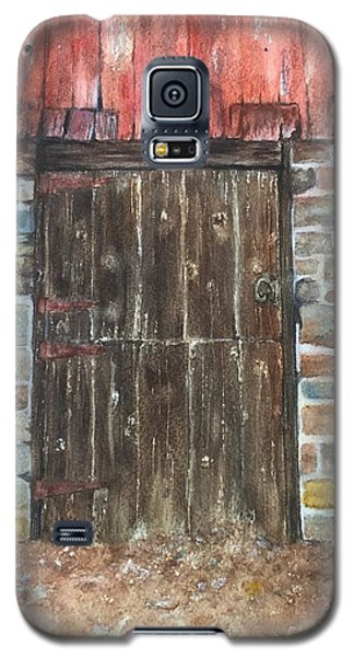 The Old Barn Door Galaxy S5 Case