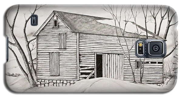 The Old Barn Inwinter Galaxy S5 Case