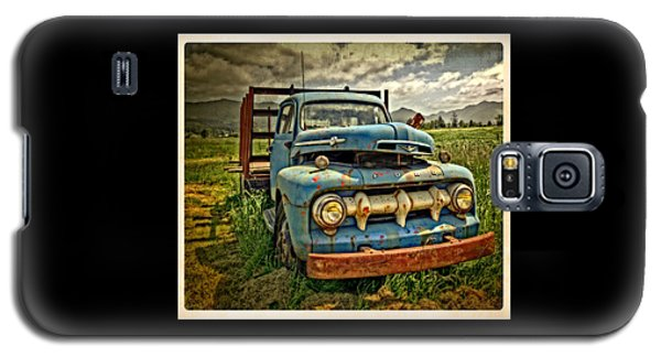 The Blue Classic Ford Truck Galaxy S5 Case
