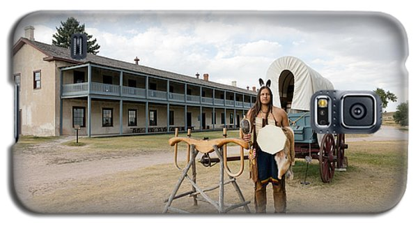 Galaxy S5 Case featuring the photograph The Old Cavalry Barracks At Fort Laramie National Historic Site by Carol M Highsmith