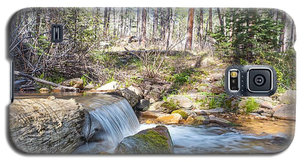 Galaxy S5 Case featuring the photograph The Old Creek Falls by Anthony Citro