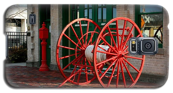 The Old Fire House Galaxy S5 Case