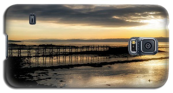 The Old Pier In Culross, Scotland Galaxy S5 Case