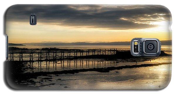 The Old Pier In Culross, Scotland Galaxy S5 Case