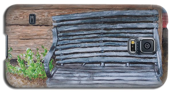 The Old Porch Swing Galaxy S5 Case by Jean Haynes