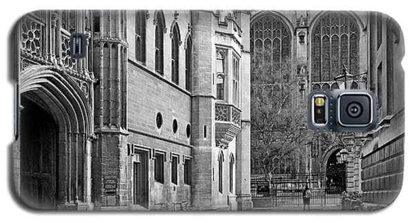 Galaxy S5 Case featuring the photograph The Old Schools University Offices Cambridge by Gill Billington