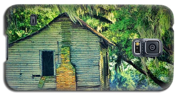 Galaxy S5 Case featuring the photograph The Old Slaves Quarters by Jan Amiss Photography