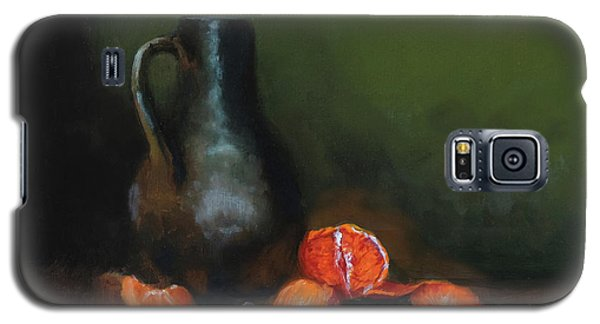Galaxy S5 Case featuring the painting The Old Stoneware Mug by Barry Williamson