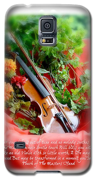 The Old Violin  Galaxy S5 Case by Lila Fisher-Wenzel