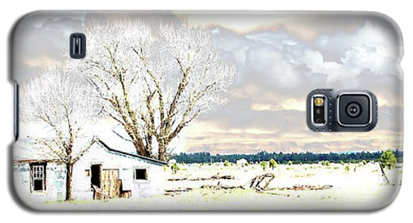 The Old Winter Homestead Galaxy S5 Case