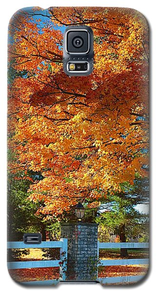 The Old Yard Light Galaxy S5 Case by Robert Pearson