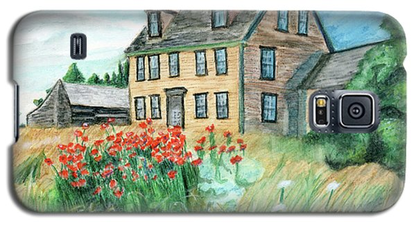The Olson House With Poppies Galaxy S5 Case