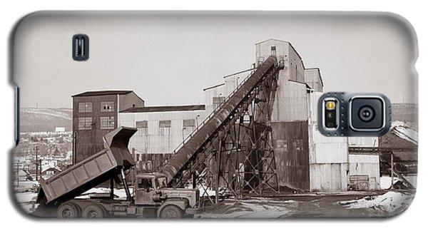 The Olyphant Pennsylvania Coal Breaker 1971 Galaxy S5 Case