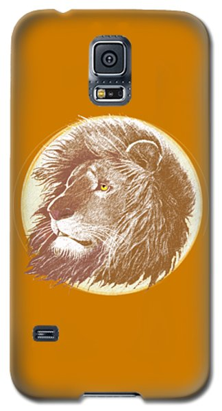 Galaxy S5 Case featuring the mixed media The One True King by J L Meadows