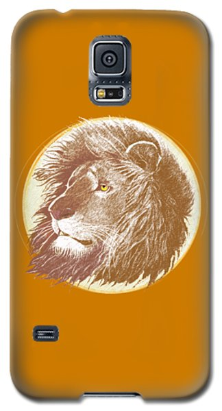 Lion Galaxy S5 Case - The One True King by J L Meadows