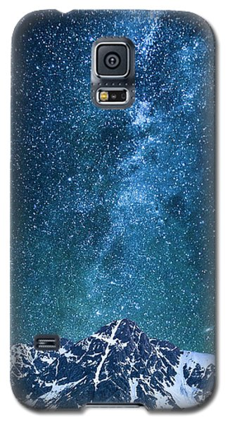 Galaxy S5 Case featuring the photograph The One Who Holds The Stars by Aaron Spong